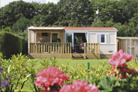 Camping Drenthe Zonnekamp Verhuurchalet