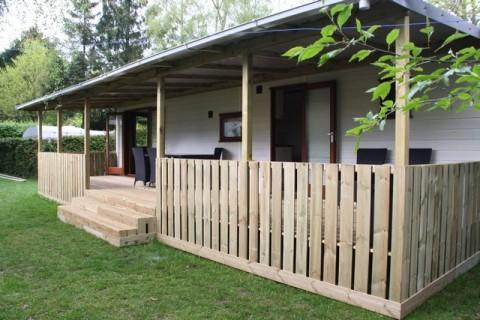 Camping Blauwe Lantaarn Veranda chalet