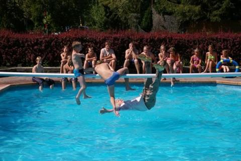 Camping Blauwe Lantaarn zwembad