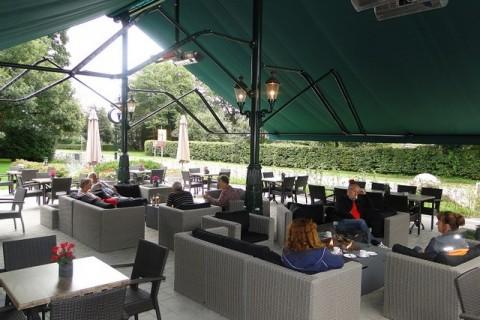 Hotel De Wapser Herberg overdekt verwarmd terras
