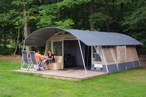 Boscamping Appelscha Lodge tent