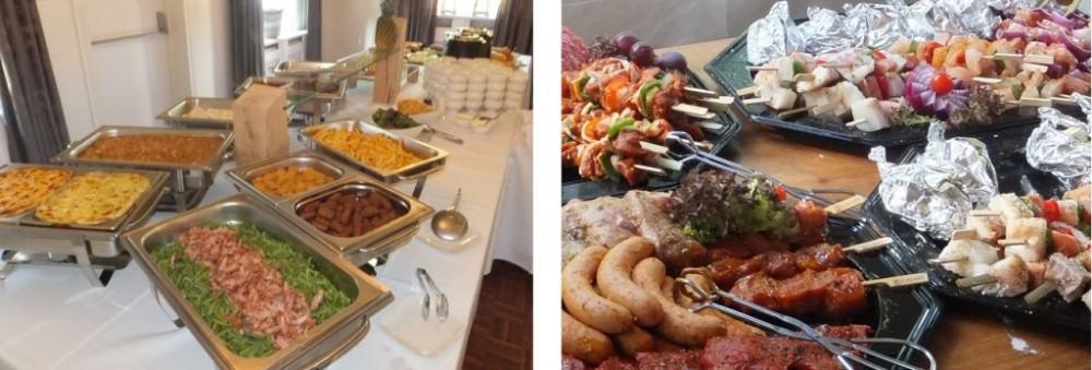Bospaviljoen Appelscha buffet barbecue