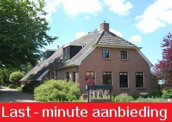 Groepsaccommodatie Jonkershoeve Wapse last minute