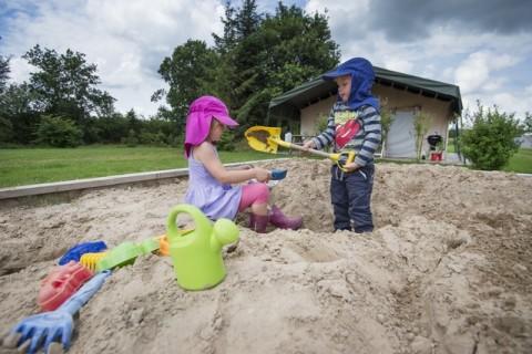 Camping De Goede Weide zandbak
