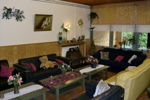 Alberthoeve Vakantiehuis huiskamer