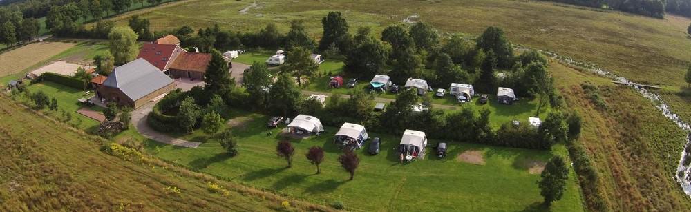 Camping De Goede Weide luchtfoto