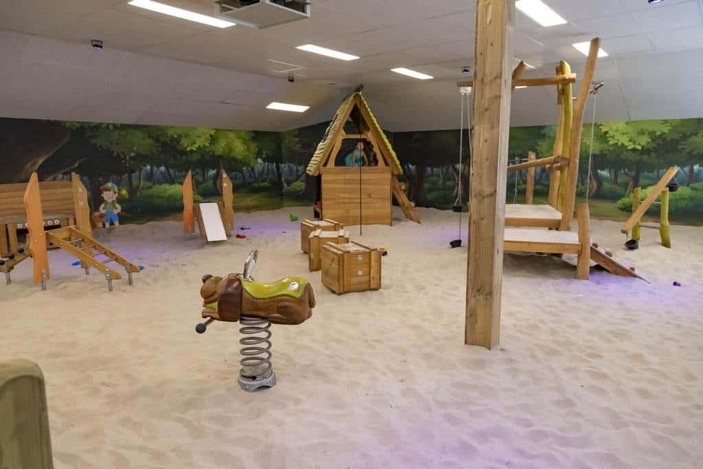 Vakantiepark Roggeberg Drents Friese Wold Overdekte Speelplaats