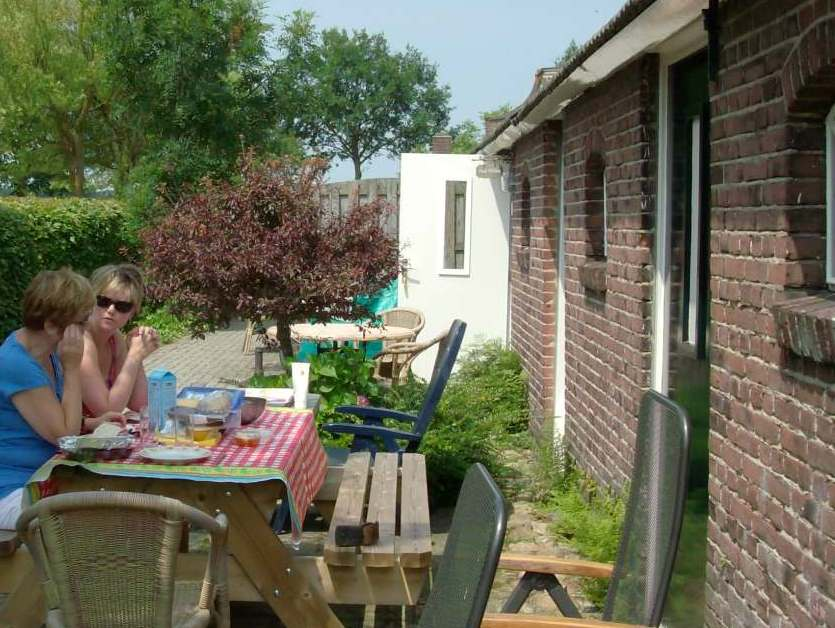 Hoeve t Wed terras appartement