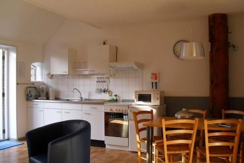 Appartement-Hoeve-t-Wed keuken Lieve Lutina