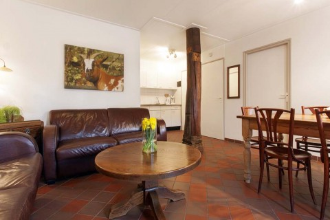 Appartement-Hoeve-t-Wed woonkamer Oude Willem