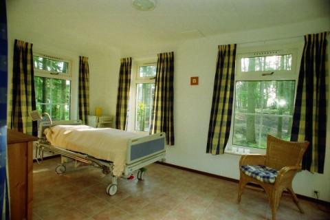 Bungalowpark Wildryck mindervalidewoning slaapkamer