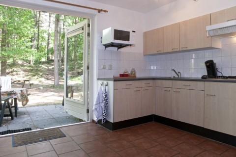 Bungalowpark Wildryck vakantiehuisje keuken