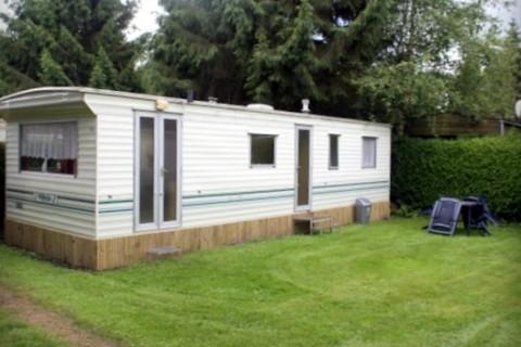 Camping De Blauwe Lantaarn huurcaravan 4-persoons