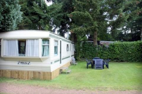 Camping De Blauwe Lantaarn huurcaravan 6-persoons