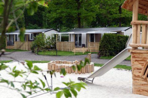 Camping Blauwe Lantaarn Wateren Chalet Verhuur