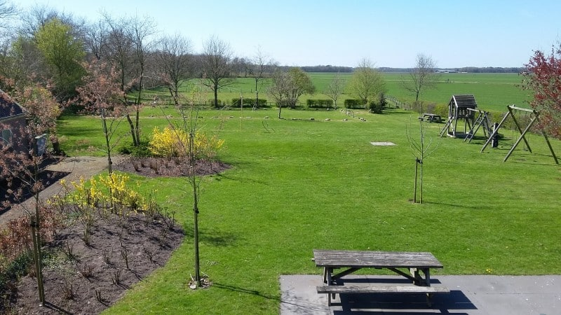 Guesthouse Jonckers Hoeve tuin