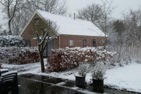 Jonckers Hoeve Vakantiehuis in de winter
