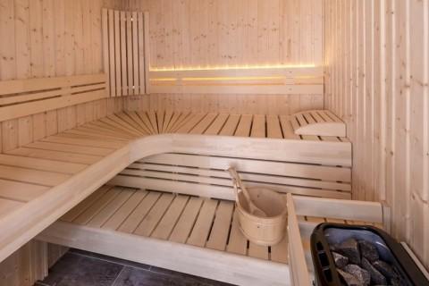 Natuurlodges Wellness De Vier Eiken sauna