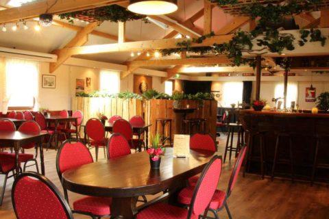 Restaurant Bistro Boshuis Interieur