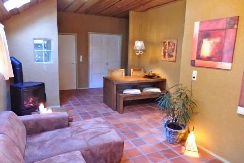 Vakantiehuis Te Hooi en Te Gras woonkamer