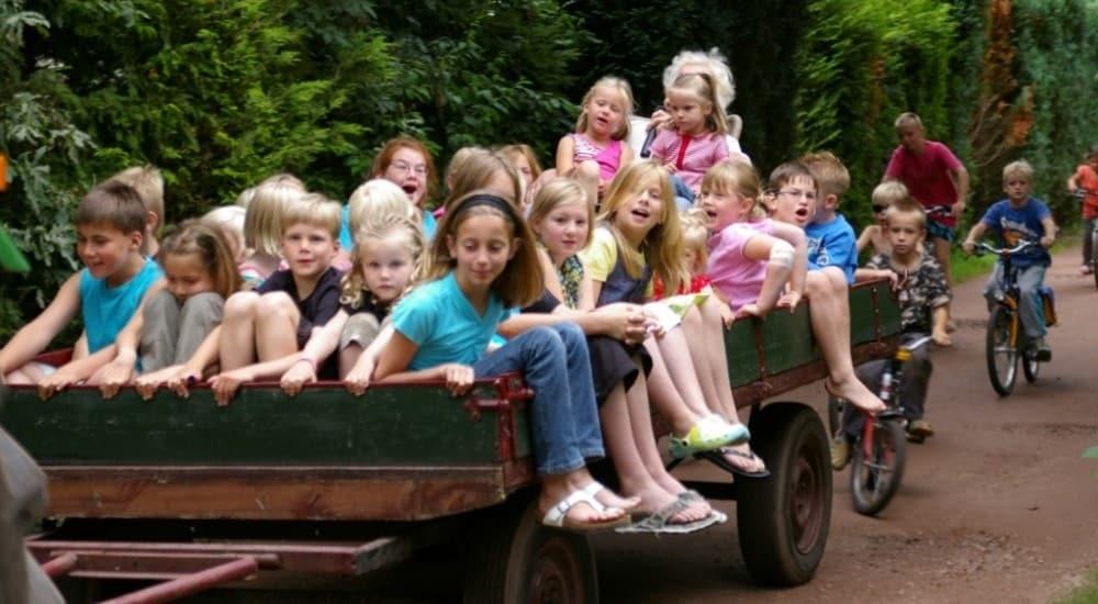 Vakantiehuisje De Blauwe Lantaarn kindvriendelijk
