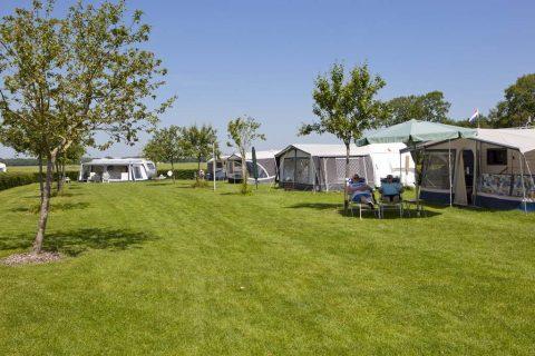 Camping Noordenveld ruime kampeerplaatsen