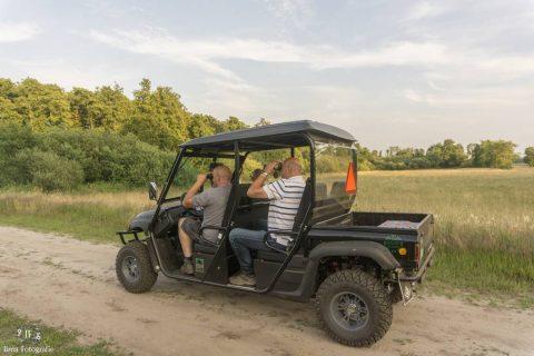 Camping Noordenveld Wildsafari Elektrische Terreinwagen