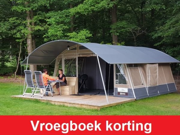 Vroegboekkorting Boscamping Appelscha Luxe Lodge Tent Glamping