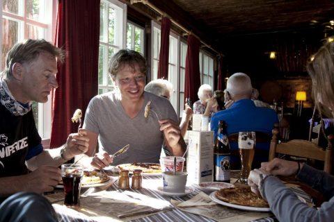 Herberg De Wildehof Drenthe aan tafel