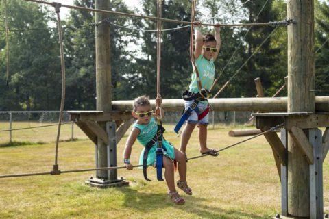 Rcn Roggeberg Vakantiepark Drents Friese Wold Klimparcours