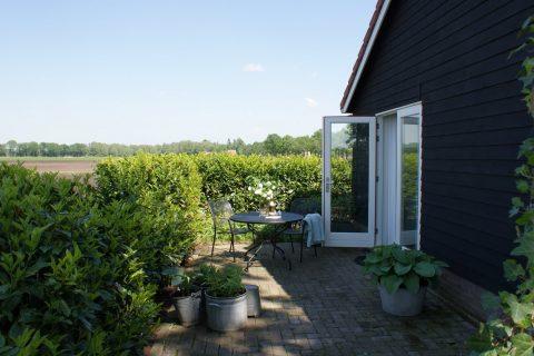 B&B Het Drents-Friese Uitzicht terras