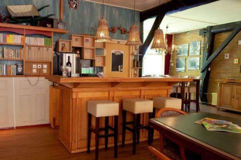Groepsaccommodatie Huntershof Diever bar