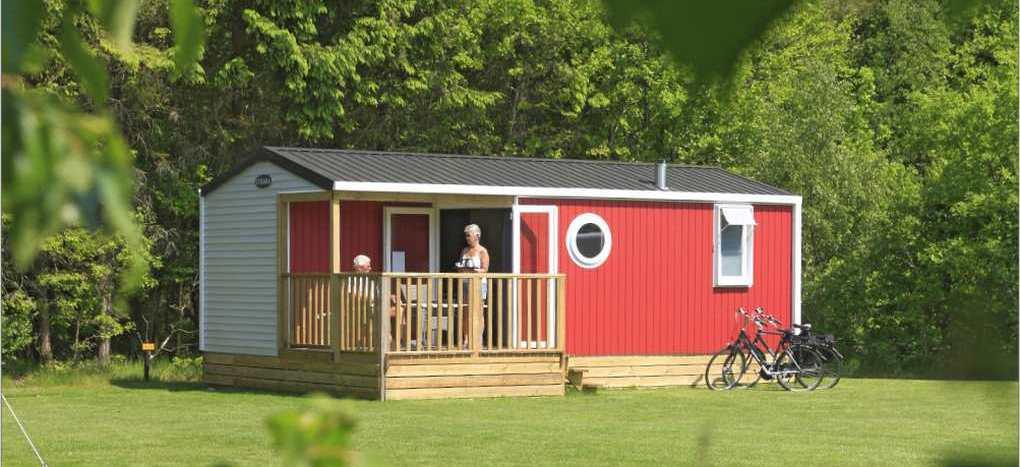 Camping Zonnekamp Verhuurchalet Drenthe Zunnegien