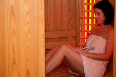 Vakantiehuis Appelscha Infrarood Sauna