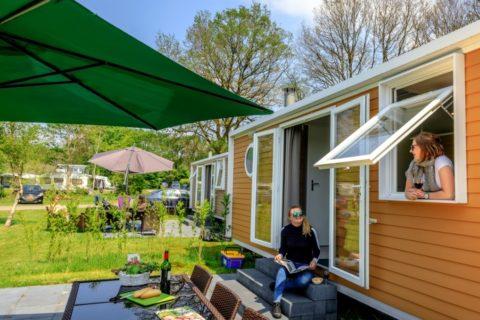 Chalet verhuur Camping Reeënwissel